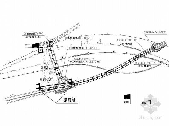 [重庆]城市主干路实施性施工组织设计109页(含桥梁 附CAD图)