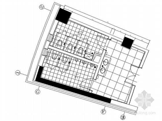 现代公共卫生间装修图