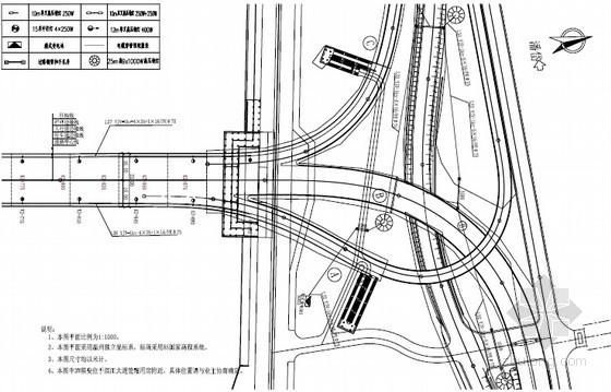 [浙江]知名大桥照明工程图纸