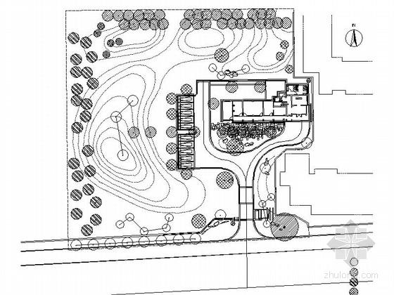 [福建]商业办公楼景观绿化改造设计施工图