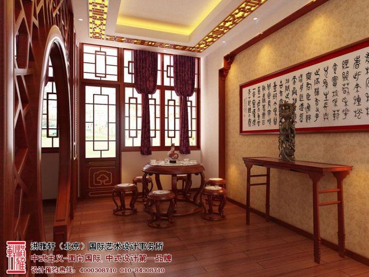 山西太原办公室中式装修,古朴典雅时尚风情_2