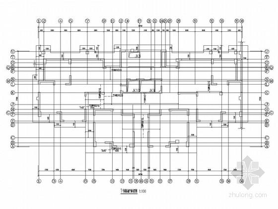 [30万平]32层剪力墙结构商住楼结构施工图(含幼儿园)
