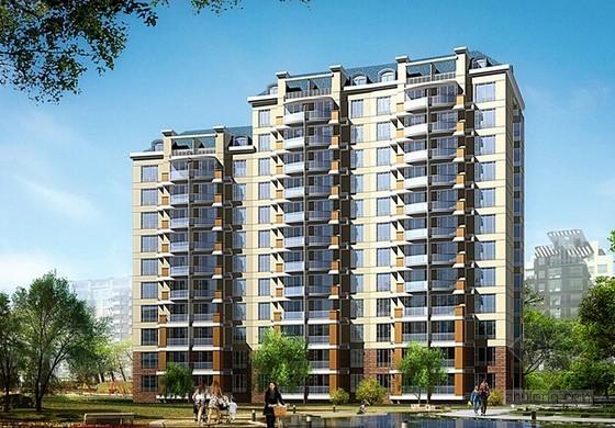 [福建]住宅小区石材干挂幕墙安装工程施工合同