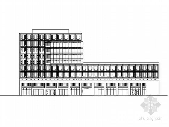 [宁波]多层现代社区综合服务中心初步设计方案图