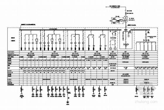 矿井660V变电所变配电系统图1