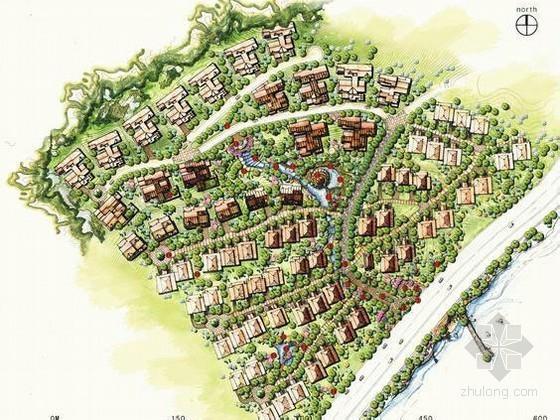 [杭州]山庄小区景观设计方案
