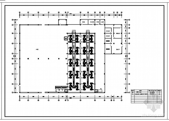 医疗器械厂房洁净空调施工图