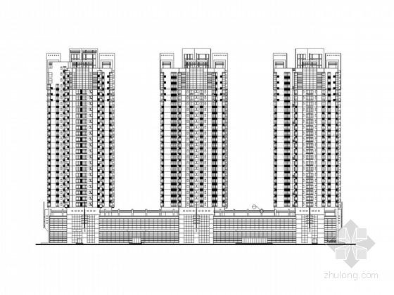 [深圳]27层商住楼建筑施工图