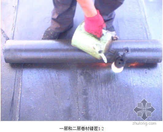 屋面SBS防水细部作法(工艺做法  施工照片)