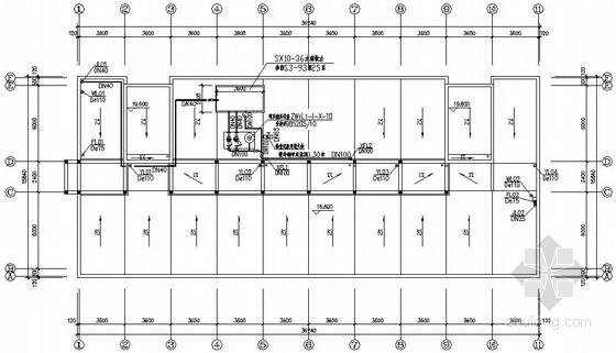 [嘉兴]某医疗器械有限公司办公楼给排水图纸