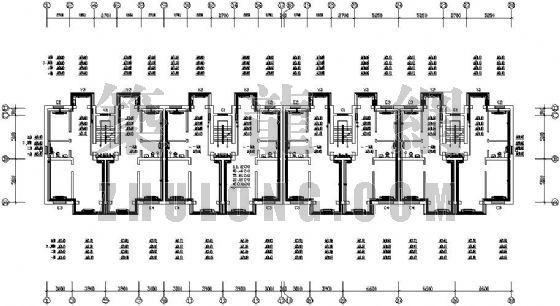 某住宅楼采暖分户计量设计图