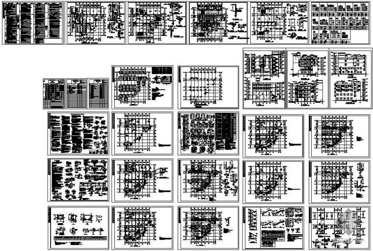 广东某框架卫生院结构设计图