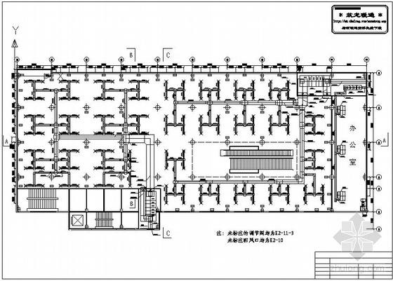 商场标准层全空气系统图