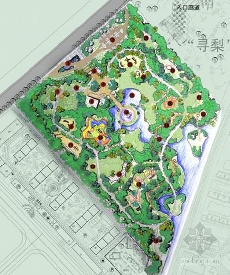 [新疆]儿童主题乐园景观设计概念方案