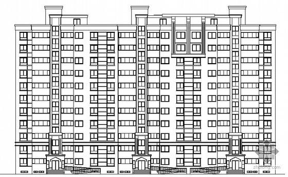 银座花园小区二期工程十一层住宅楼建筑施工图