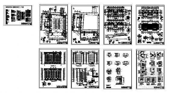 宜宾某小区3、4号住宅楼建筑结构施工图-3