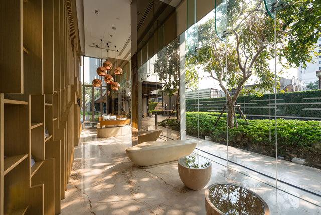 泰国Ceil公寓住宅景观设计_4