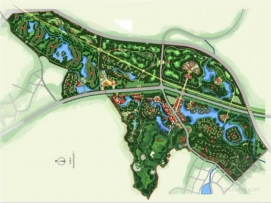 [成都]田园风格旅游度假区景观规划方案