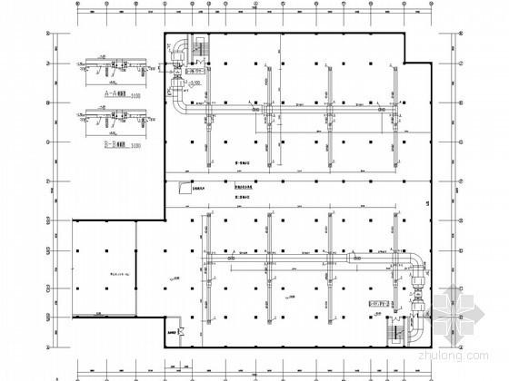 [四川]地下车库通风及防排烟系统设计施工图