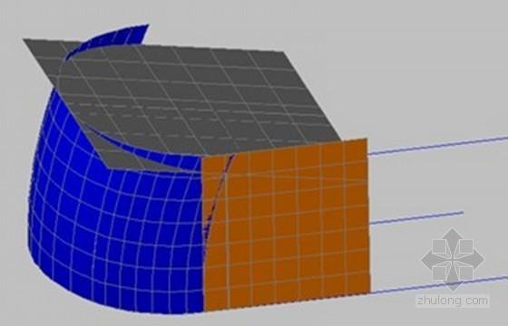 高大曲面墙模板支撑设计与施工