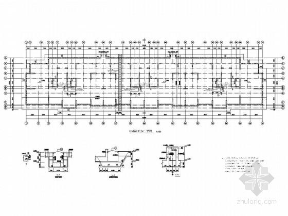 [山东]五栋17层剪力墙结构普通住宅楼结构施工图