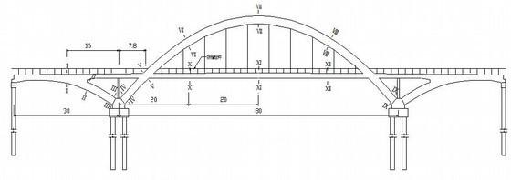 桥梁工程中承式拱梁组合体系桥动静载试验探讨