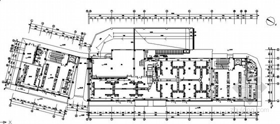 [陕西]商务酒店暖通空调设计施工图