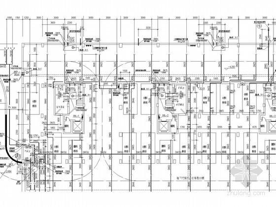 高层住宅楼给排水及消防设计施工图(自动喷淋)