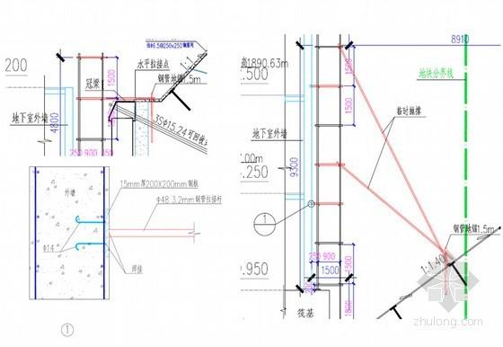 [云南]会展中心工程地下外脚手架搭设施工方案(50页)