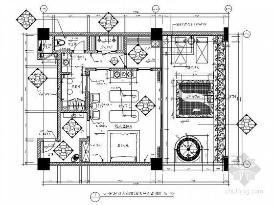 水疗SPA双人套间室内装修图