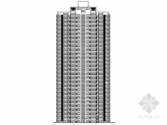 [河南]某一梯六、顶层复式住宅楼建筑施工图