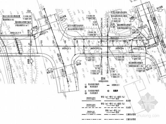 [湖南]城市次干道全套施工图设计104张