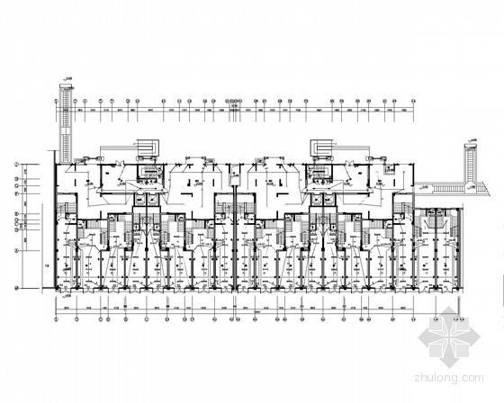 [江苏]知名广场住宅区强弱电施工图150张(甲级设计院 多栋住宅)