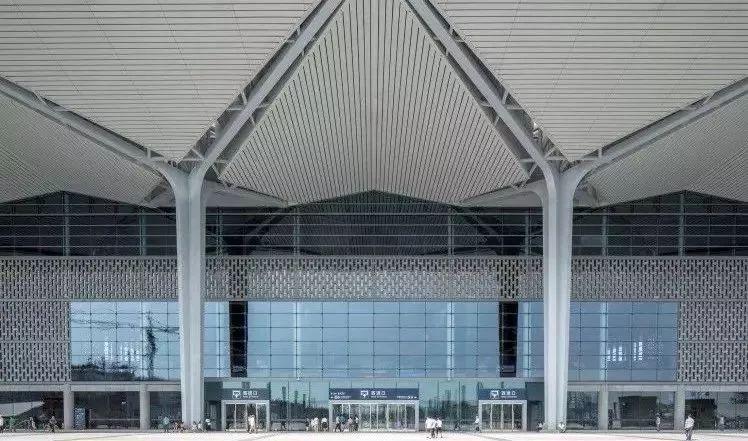结构单元体与空间塑造,从国内几个高铁站的设计说起_3