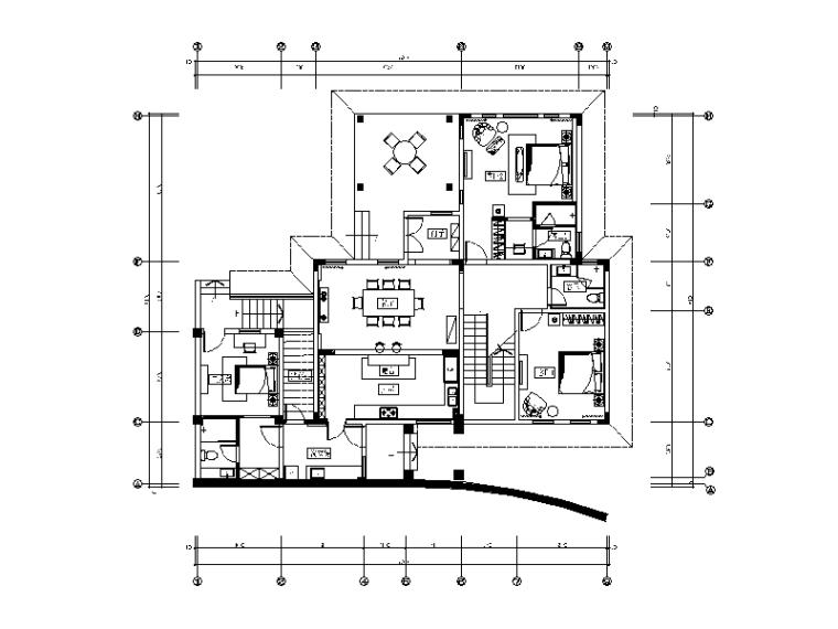 [分享]厨房顶面图cad资料下载