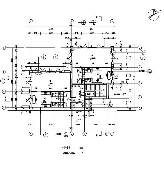 [西藏]高层假日酒店全套施工图(水暖电、结构及室内图纸)_4