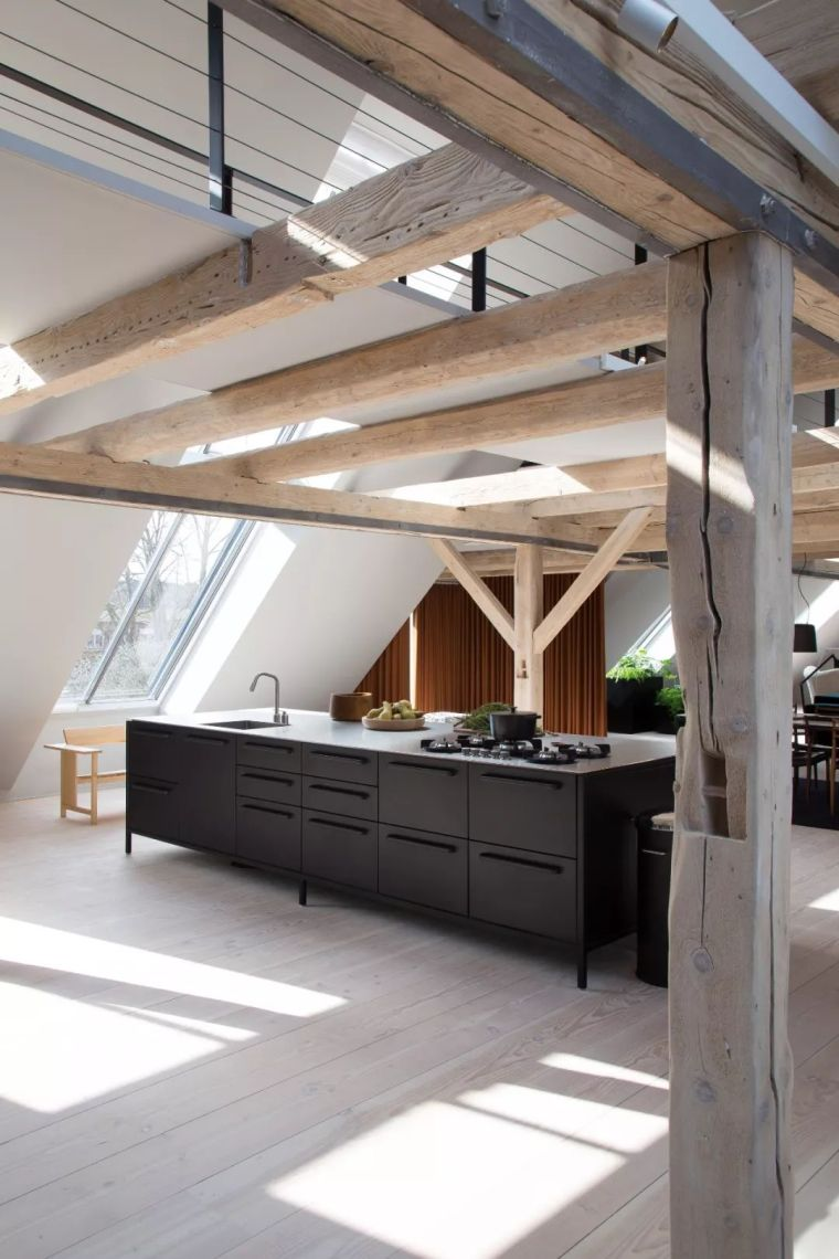 最美的北欧风Loft设计,纯粹、自然、极致!_5