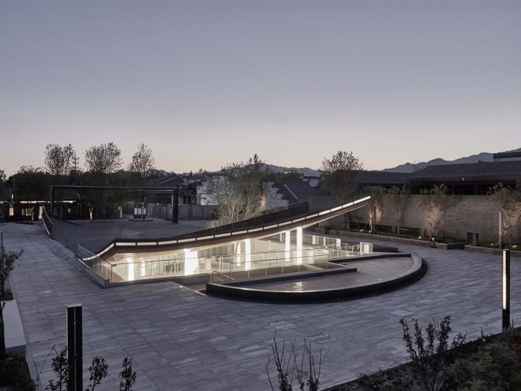 北京世界园艺博览会园艺小镇广场及艺术中心