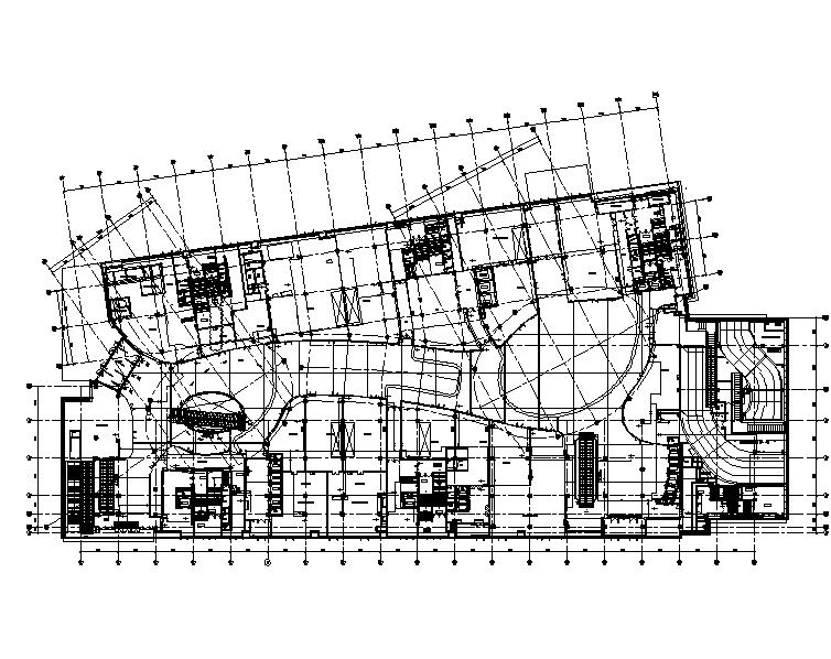 上海金融中心大型高级商业中心给排水施工图(CAD+PDF)