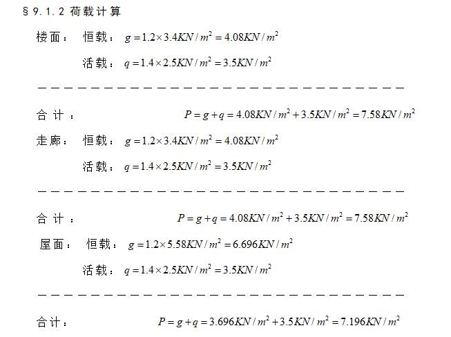 【毕业设计】某市6层综合办公楼(建筑结构图+手算计算书)_6
