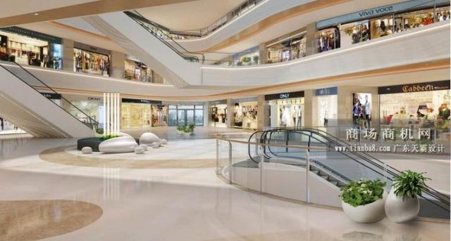 优秀购物中心设计效果图欣赏:龙湖广场效果图