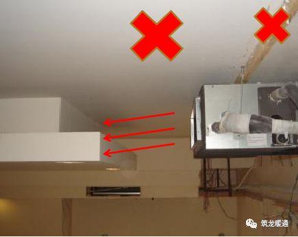 风管安装常见11项质量问题实例,室内机安装质量解析!_44