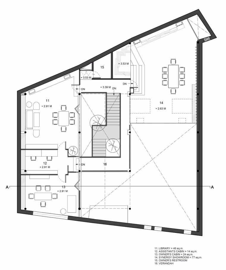 仓库改造后的办公室——悬浮于建筑中心的混凝土楼梯-1522677827827377.jpg