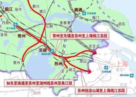 上海大都市圈轨道交通详解:城轨互连!通勤高铁、铁路密布_12