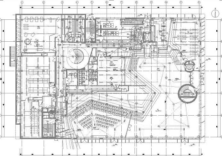 中国-丹麦科研教育建筑工程电气施工图(含智能化系统)