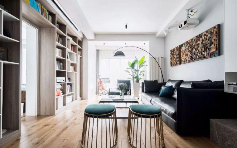 125㎡北欧3居,阳台打通做书房,我见过性价比最高的房子