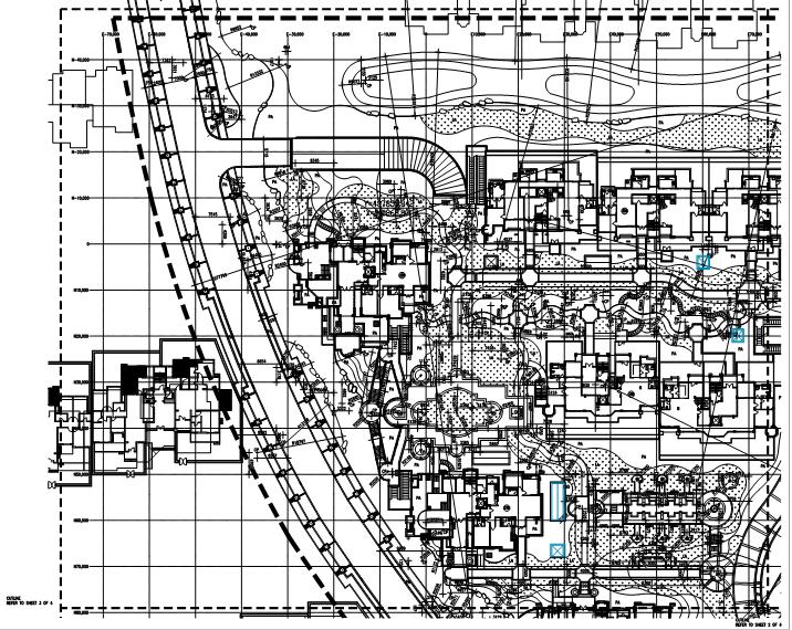 开线平面图1