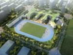 北京四中房山校区建筑SU模型