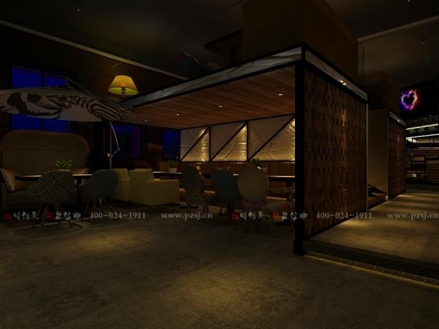 沈阳市中山路热情的斑马艺术休闲吧项目设计效果图震撼来袭-4.jpg