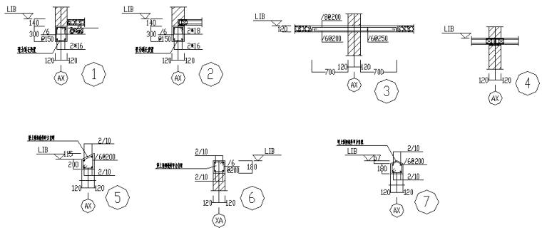 临时用房全套结构施工图(CAD,4张)_2
